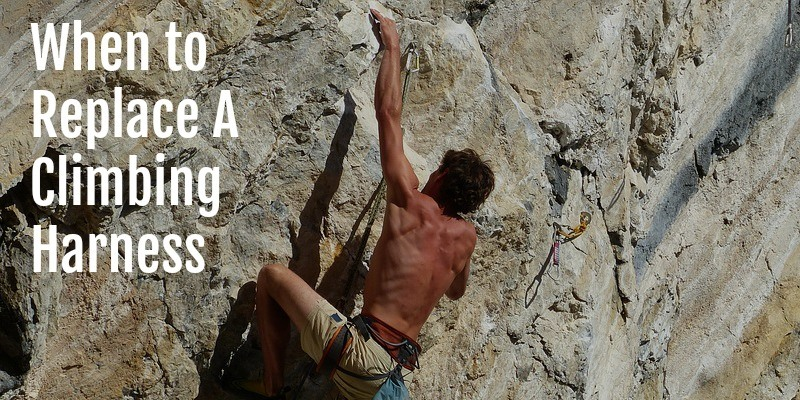When to replace climbing harness