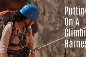 How to Put on a Climbing Harness – 5 Steps to the Perfect Fit