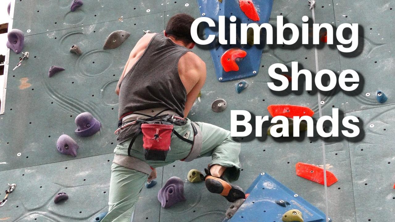 best climbing shoe brands